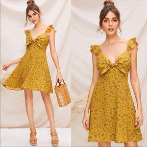 CUTE Floral Print Dress
